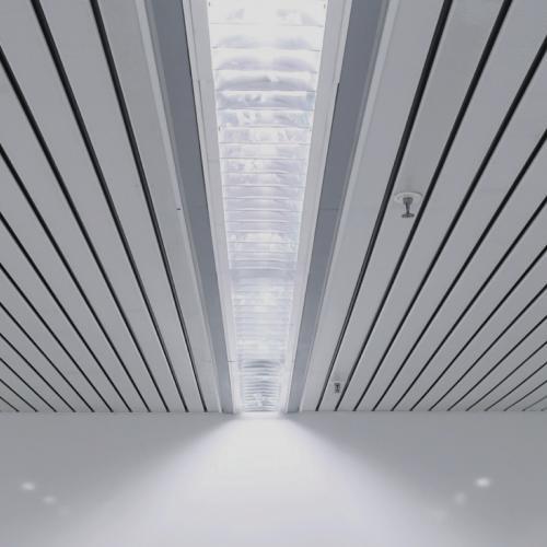 Реечные подвесные потолки Албес