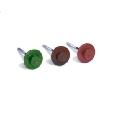Гвозди круглые цветные для ондулина (100шт/уп)