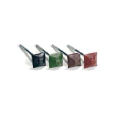 Гвозди прямоугольные цветные для ондулина (100шт/уп)