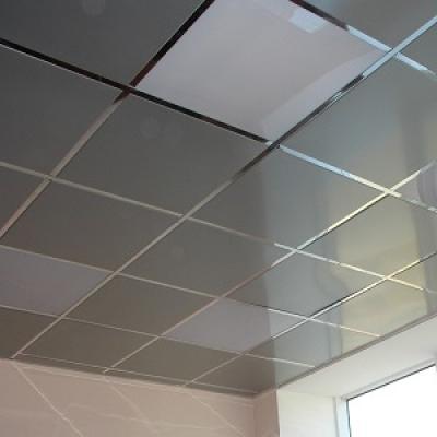 Кассетный потолок металлик (600х600)