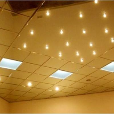 Кассетный потолок супер-золото (600х600)