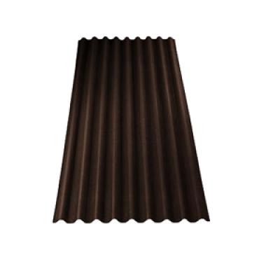 Ондулин коричнеый 1950х950х3мм